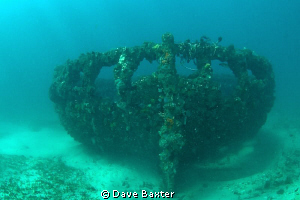 the North mole wreck by Dave Baxter 